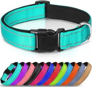 joytale reflective dog collar for pitbulls