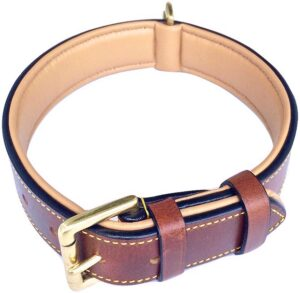 soft touch dog collar for pitbulls